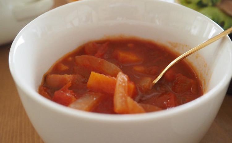 タイム香る田舎スープ
