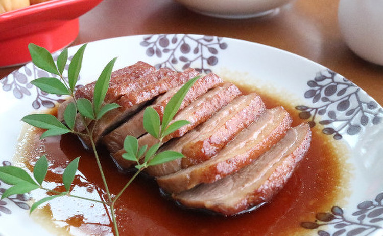 鴨の醤油煮