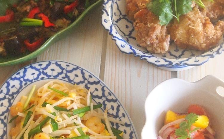 エスニック料理でパワーチャージ!!タイ料理で残暑を乗り切ろう♪