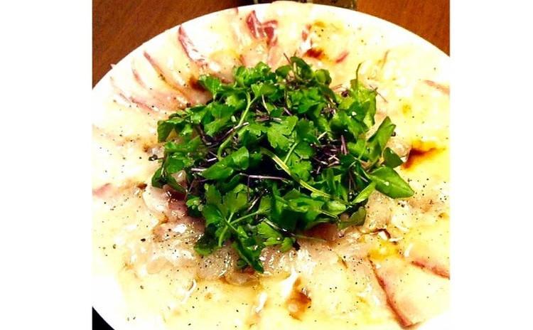 【砂糖不使用★ヘルシーおうち洋食】①お魚のカルパッチョ、②パプリカのムース、③具沢山ごちそう麦サラダ