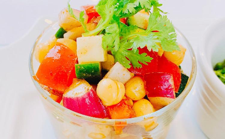 ひよこ豆のカチュンバ(単品定価:8,500円)