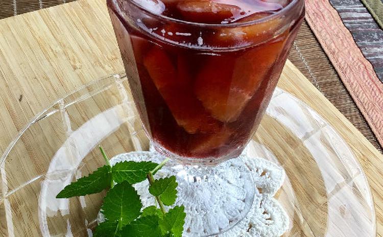 サングリア♪〜ワインとジュースの二種で乾杯!