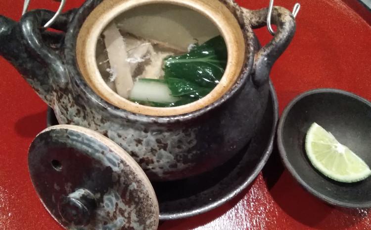 秋、松茸料理