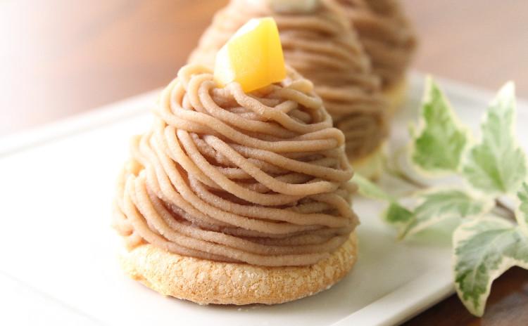 秋はケーキ・モンブラン Mont Blanc aux marrons♪ 旬の和栗で作りましょう!