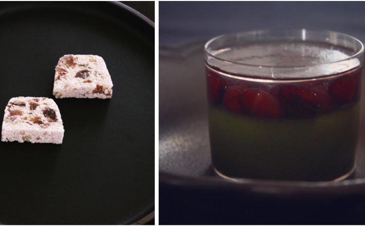 10月の和菓子レッスン♪「コアントローと抹茶の羊羹」「マロングラッセの押し物」