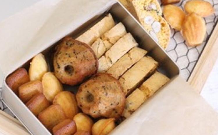 お菓子の基本の[き]♫   プティガトー缶を作ろう!!