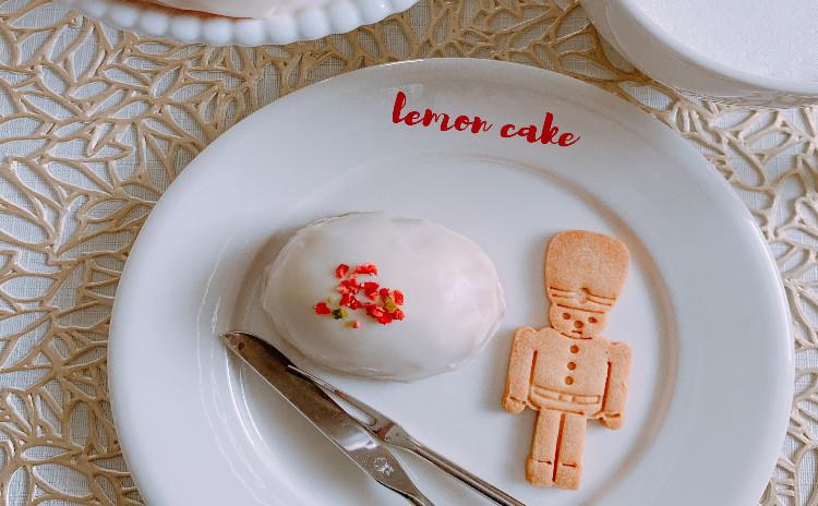 レモンケーキ&上新粉スパイスクッキー♪