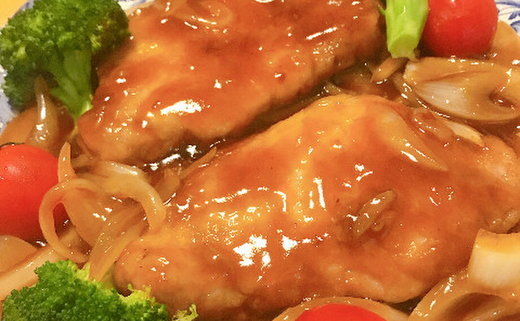 京都猪扒(豚肉甘酢ソース)