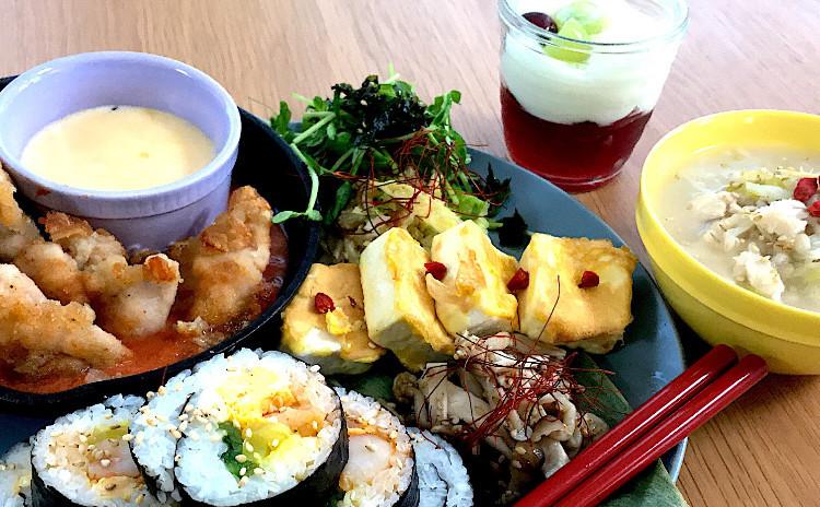 みんな大好きメニュー❤️パネチキンと身体喜ぶ韓国料理レッスン全7品