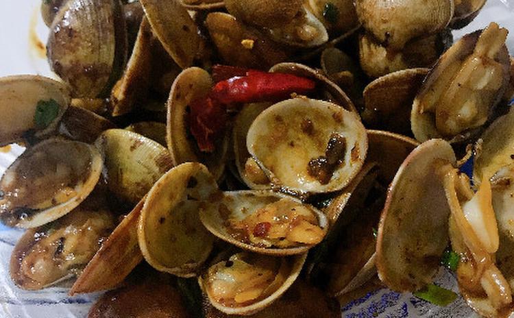 港式排檔炒蜆醬(アサリのトウチソース)