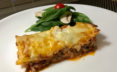 【お家イタリアン#2】ラザニア、タコのトマト煮他 ※お土産は絶品ドレッシング