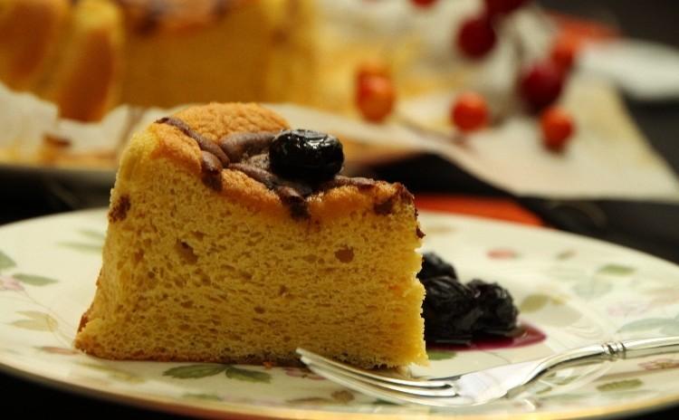 かぼちゃのハロウィンケーキ&ブルーベリーソース♪5号サイズ1台持ち帰り♪