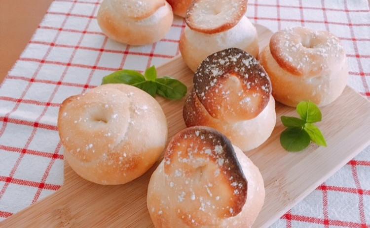 ホシノ酵母で作るきのこの形のシャンピニオン&アボカドディップ・ツナの燻製パテ