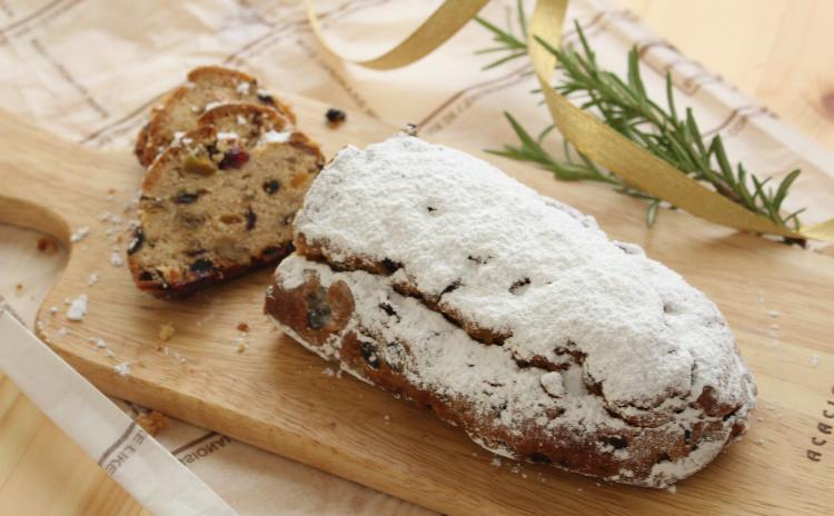 発酵のいらないパウンドケーキ風 シュトレン Stollen Kuchenant♪ 焼き菓子スタイルで作りましょう!