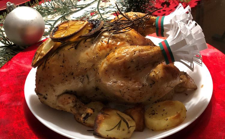 【Xmasレッスン第2弾】ローストチキン~丸鶏の下処理から取り分け方まで~おしゃれなお料理もたくさん作りましょう!!