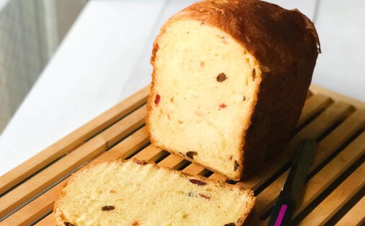 【第2弾!!】ホームベーカリーでパネトーネと今話題の高級食パンをつくろう!