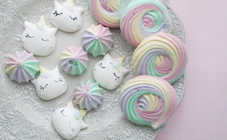 メレンゲクッキーを作ろう♡ ユニコーンポップス メレンゲクッキー