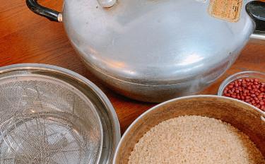 酵素玄米☆の炊き方をマスターするレッスン(酵素玄米と、三五八漬け床お持ち帰り)