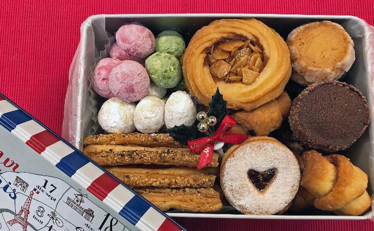 プレゼントのクッキー缶作り❤