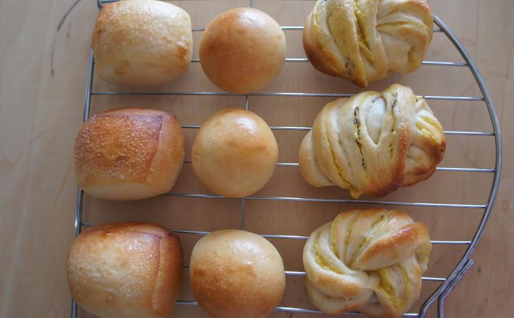 1回のレッスンで3つのパンのレシピ講習・基本をしっかり!