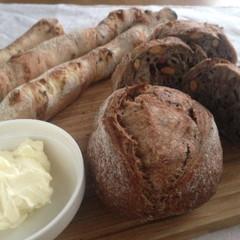 リピートレッスン!自家製酵母ハードパンに挑戦!ショコラとナッツのクッペ&甘納豆のスティック