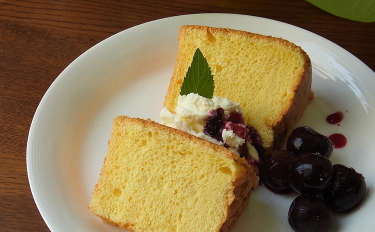 ふんわり、しっとり、香り高い紅茶のシフォンケーキをマスターしよう!コツをつかめば美味しくできる♪