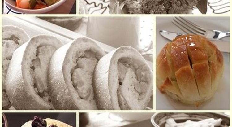 クリームパン・ハードチーズパン・スコーンのレッスン(3種類のレシピ付き)