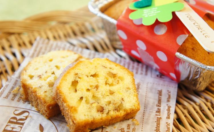 持ち寄り会にもピッタリ♪『オレンジ風味バターケーキ』と『ツナマヨパン』