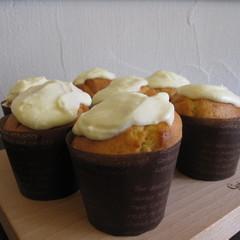 コツをつかめばお店の味♡レモンクリームカップケーキ