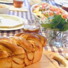 お野菜たっぷりデリご飯付き『シナモンロール』と『シフォンケーキ』