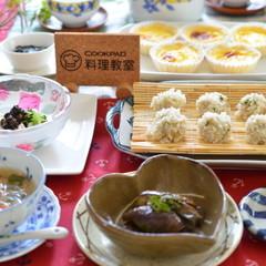 おから入り団子のもち米蒸し飲茶をマスターして♪豪華な中華のおもてなし✿