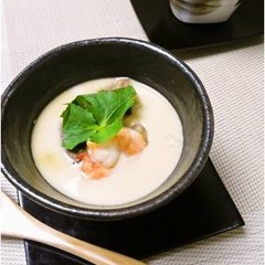 500Kcalヘルシー和食☆5分でできる本格だし!で作る料亭風茶碗蒸し