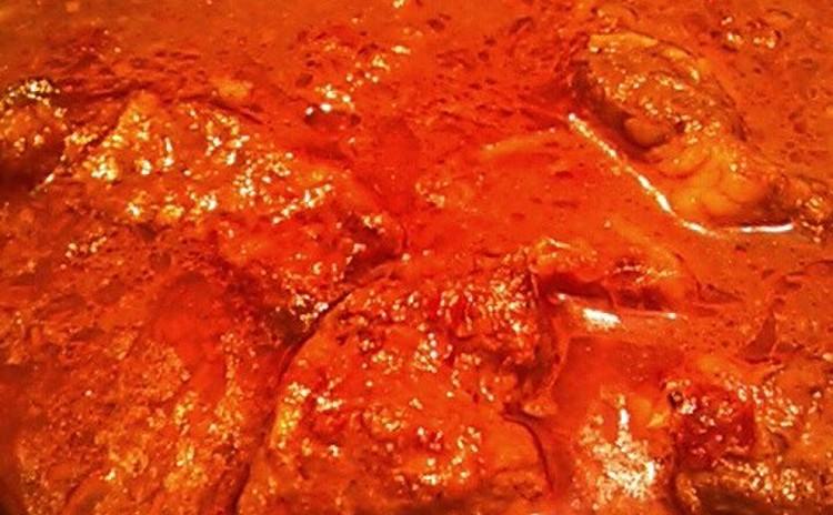 ペーストから作るチェンマイカレー&焼き茄子のヤム&揚げワンタン