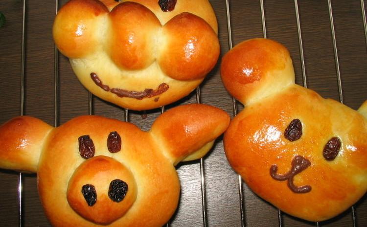 ★ママ必見!!見守り託児付レッスン★動物パン&ハムのお惣菜パン