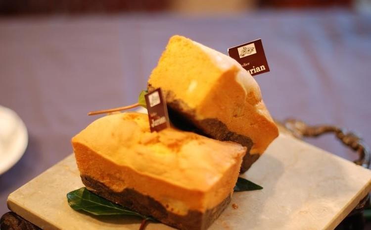 黒ゴマとじゃがいものパウンドケーキ