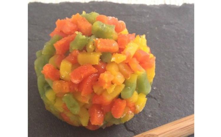 お家で簡単!秋の本格和菓子♪「栗の形の栗まんじゅう」と上生菓子[紅葉」