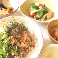秋鮭のアスタキサンチン・塩麹・雑穀のパワー丼でヘルシー代謝UP!