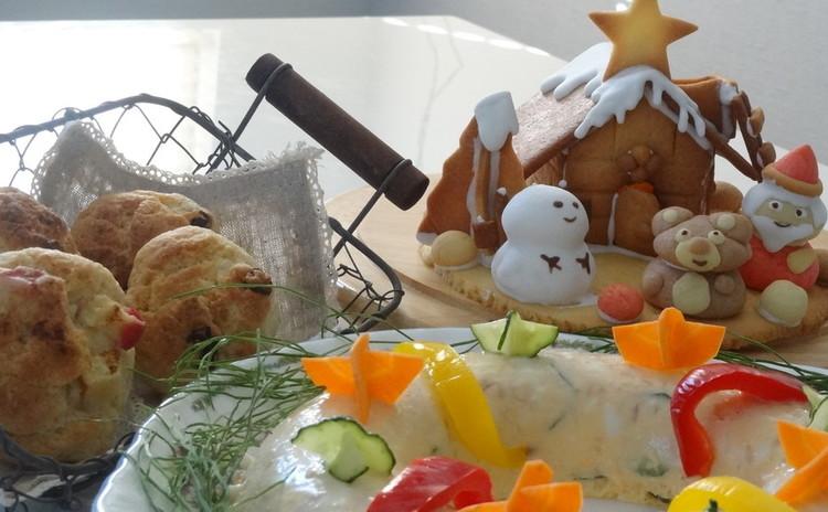 デコクッキーをマスターしてサンタハウスを作ろう!クリスマスブランチも♡