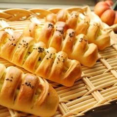 【ランチ付】お店パンを作ろう♪スィートポテトパン&コッペパン