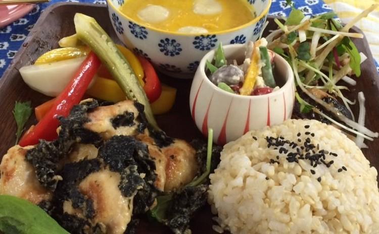 醤油麹を使った魚料理やアレンジをきかせた普段使いできる和食カフェ飯風