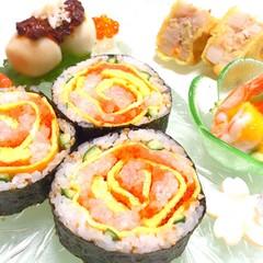 お正月までにマスター!【和食の基本とバラの飾り巻き】