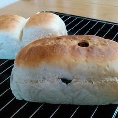 初心者歓迎♡お豆腐で作る2種のミニ食パン♡専用型無しでもできるんです♪