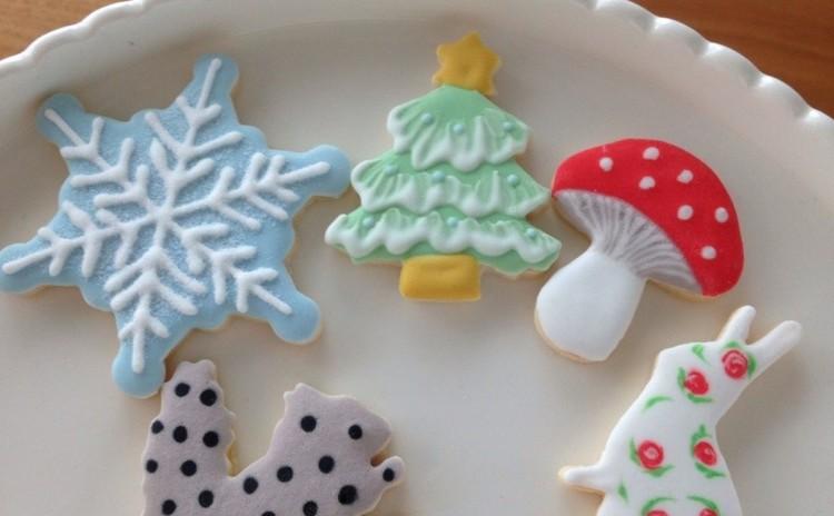 クリスマス中級者用アドバンス アイシングクッキー&プチランチレッスン