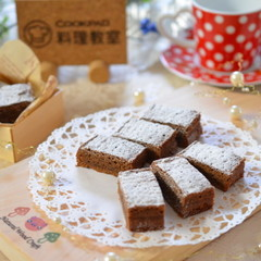 バレンタインに手作りチョコレートケーキ☆1台分お持ち帰り!ランチ付き☆