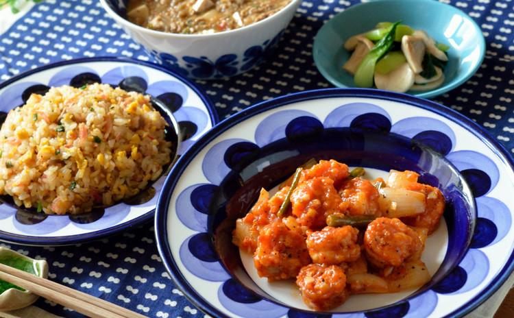【追加開催】揚げない海老チリ&本格・麻婆豆腐&パラパラ炒飯の中華献立♪