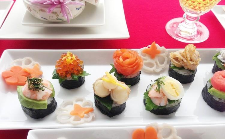 開催日追加!パリッパリ鯛の鱗揚げ&イタリアン太巻き寿司&人参飾切すまし