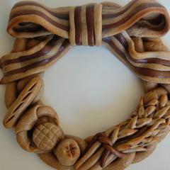 自分流デザインで自由に作る本場ヨーロッパの『飾りパン』ウェルカムボード