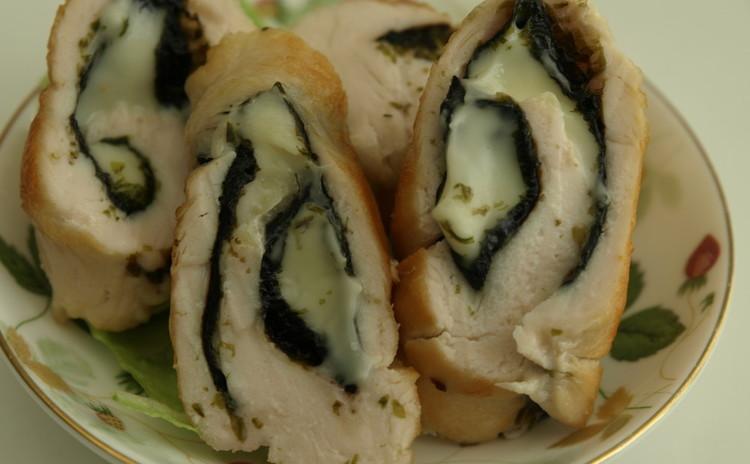 海苔&チーズの旨み!ササミ巻き(一部実習)