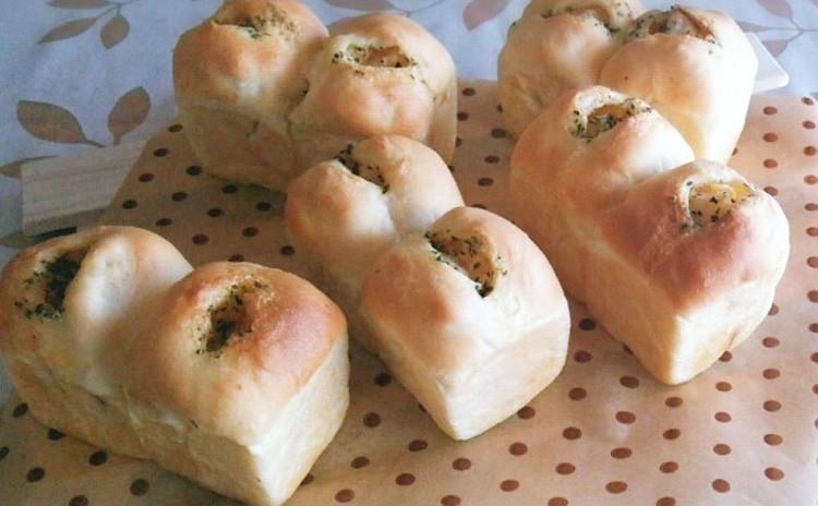 大人気~!コンソメポテトのバジルバター ! ミニ食パン型 5台
