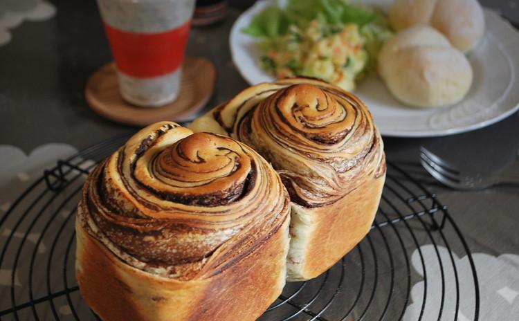 定番にしたいお食事パン&そのままプレゼントにも♪ショコラブレッド